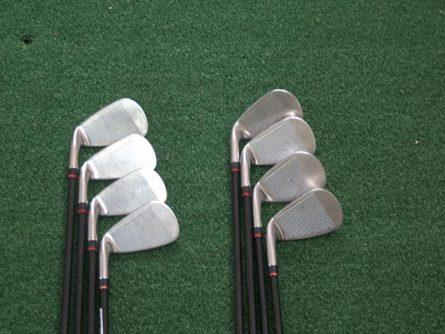 Mặt gậy Tourstage Irons được làm từ hợp kim thép đúc nguyên khối tích hợp công nghệ CNC tiên tiến