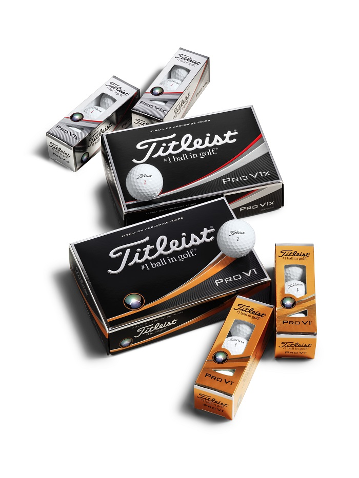 Mẫu bóng golf Titleist cao cấp