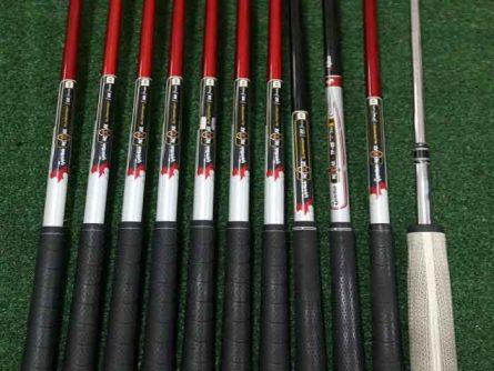 Cán gậy TaylorMade Burner là cán mềm Graphite, có trợ lực, giúp các golfer mới chơi đỡ hao sức hơn