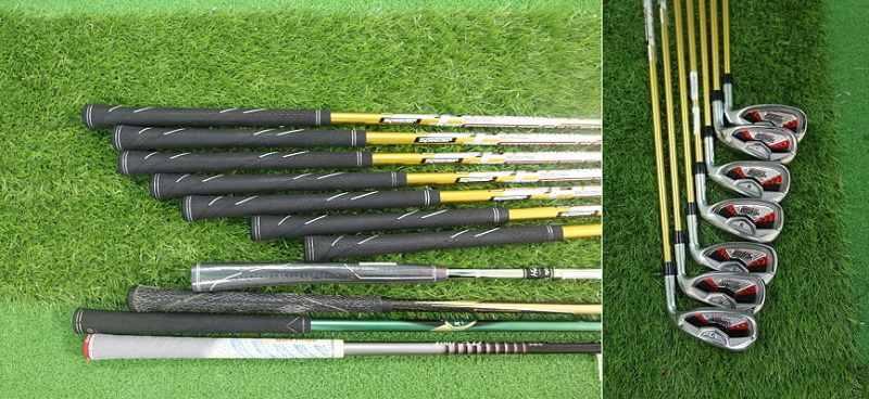 Đầu và cán gậy sắt Katana Sword được thiết kế dày dặn