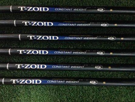 Trọng lượng các của Mizuno T zoid irons nhẹ, giúp golfer có những cú đánh nhẹ nhàng hơn