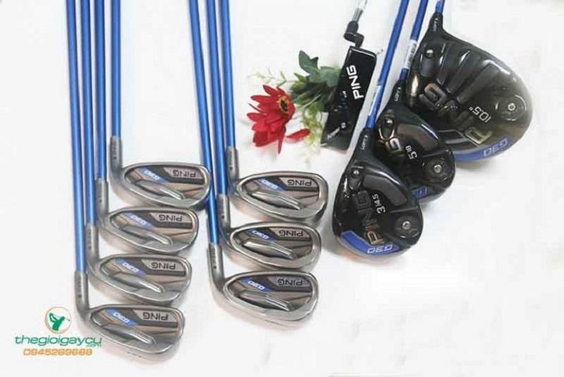 Đây là bộ gậy được rất nhiều golfer chọn đồng hành khi chơi