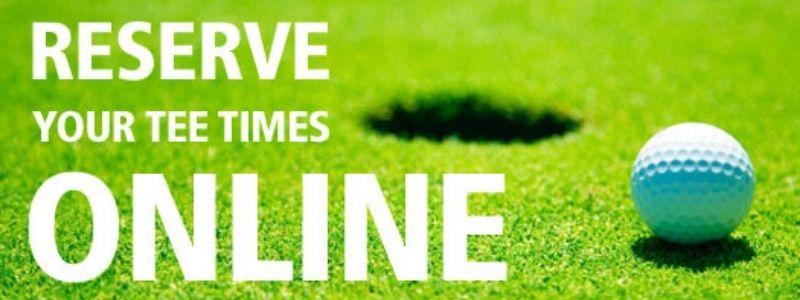 Hiện tại các sân hầu hết đều cho phép người chơi đặt trước Tee time trực tuyến