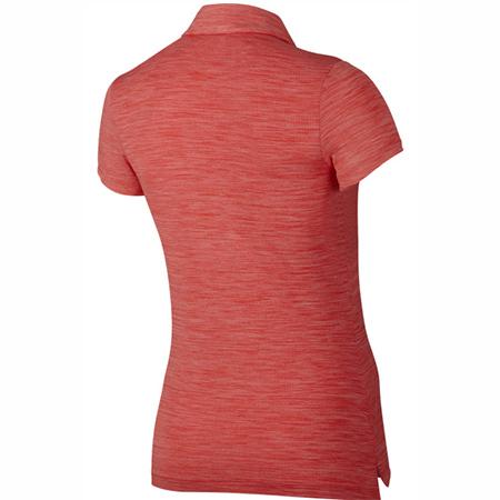 Áo Chơi Golf Nữ Nike Precision Heather Đỏ Thời Trang