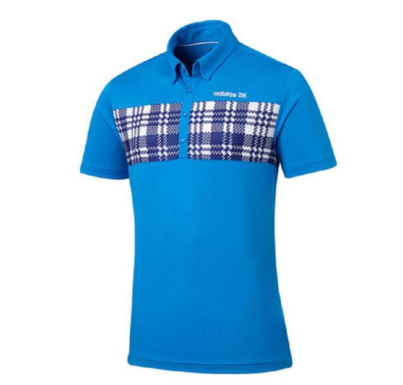 Áo golf ADIDAS SS JSY POLO được làm từ 100% polyester tái chế