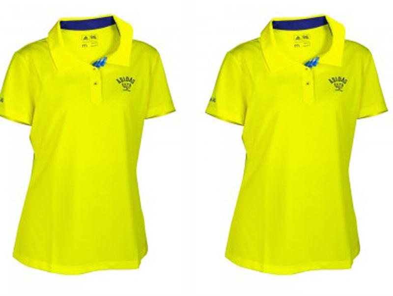 Áo golf nữ Adidas SS Pique Polo màu vàng