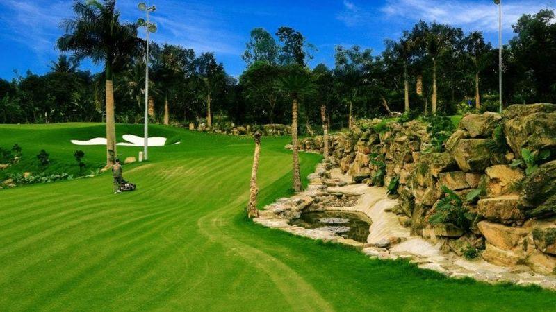 Asean Golf Resort được thiết kế với không gian rộng lớn, cảnh quan đẹp mắt