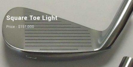Chiếc gậy sắt đắt nhất thế giới Gậy golf Square Toe Light Iron