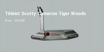 bộ gậy golf đắt nhất thế giới
