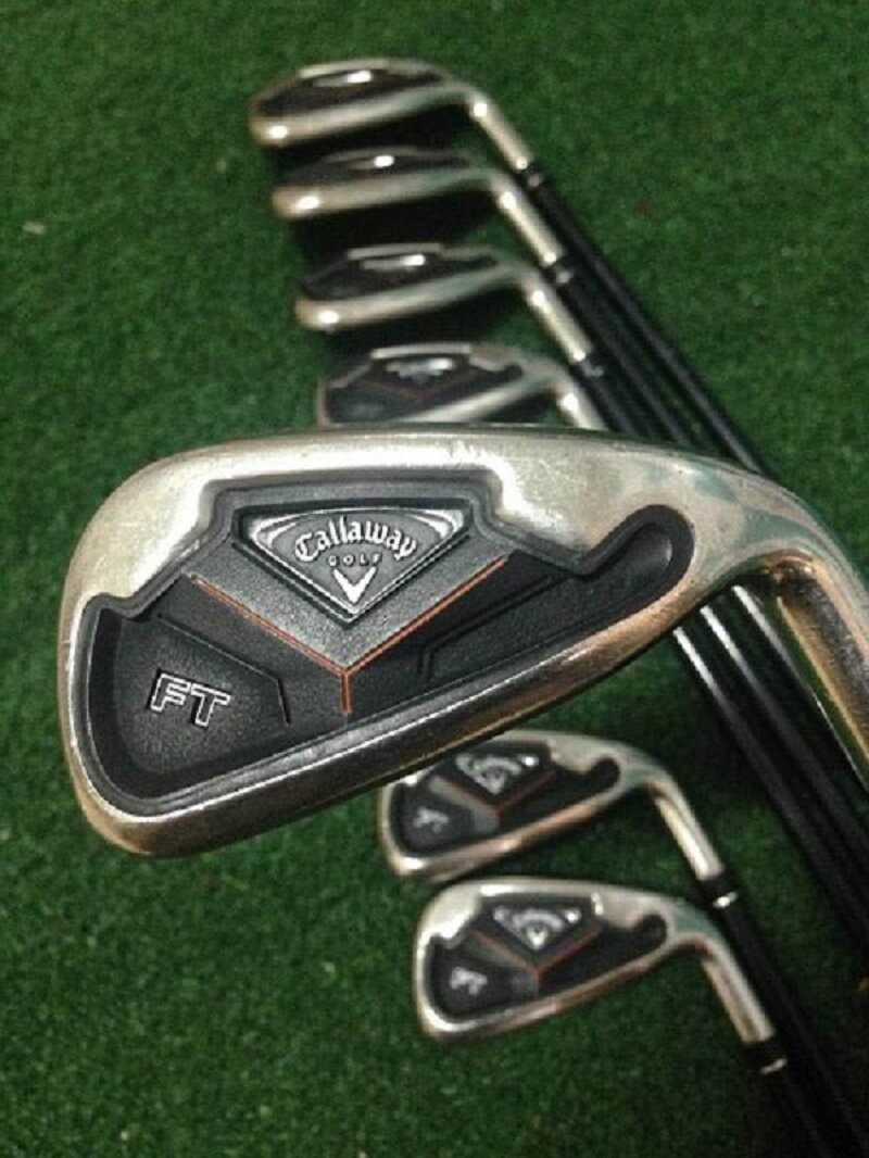 Gậy golf Callaway FT flex giúp người chơi có những cú swing đẹp mắt