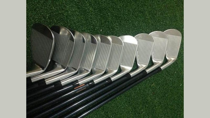 Mặt tiếp xúc bóng rộng giúp cho golfer dễ dàng có những cú swing chuẩn xác