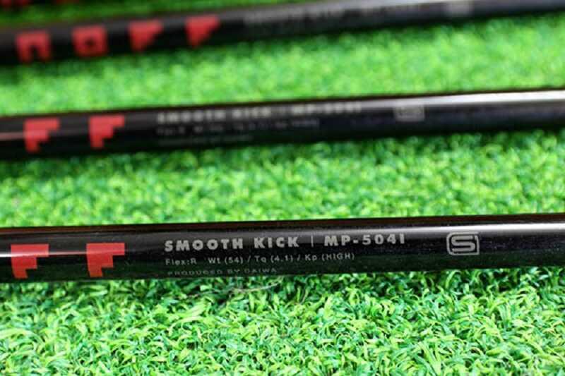 Cán gậy thuộc loại mềm, thích hợp với các tay golf mới làm quen dần với golf