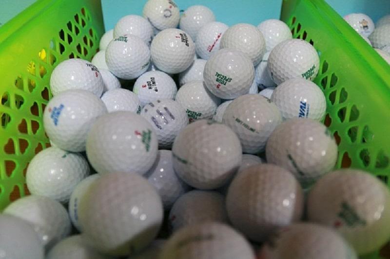 Bóng golf cũ Dunlop