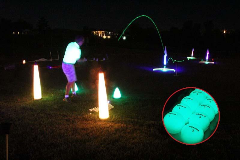 Bóng Glow V1 Night được giới gôn thủ đánh giá cao