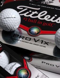 Bóng golf Titleist Pro V1 và Pro V1X là 2 dòng bóng được đánh giá tốt nhất của hãng Titleist