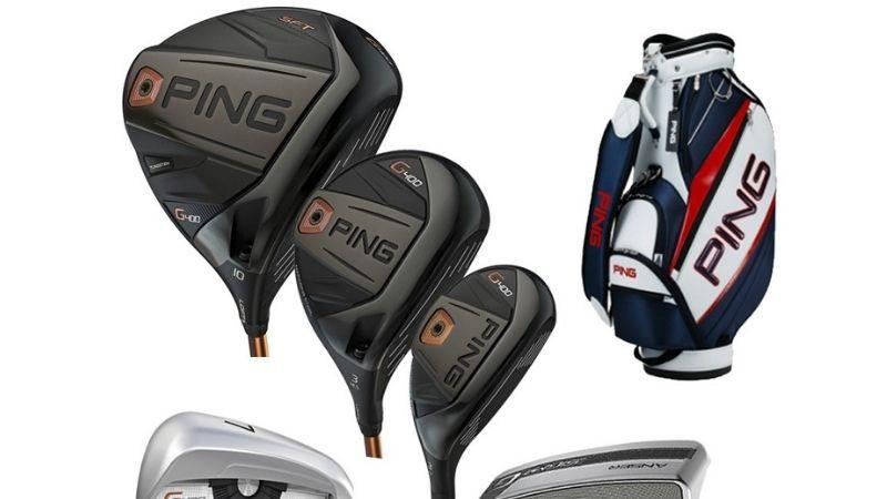 Ping cũng là một trong cac thương hiệu gậy golf nổi tiếng hiện nay