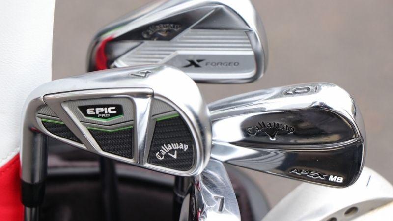 Trong các thương hiệu gậy golf nổi tiếng, Callaway hấp dẫn khách hàng bởi những thiết kế chất lượng