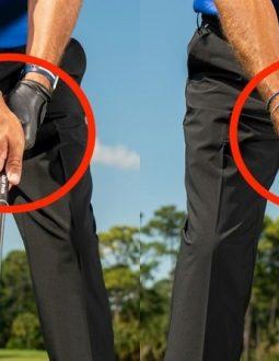 Cách cầm gậy golf đóng vai trò rất quan trọng