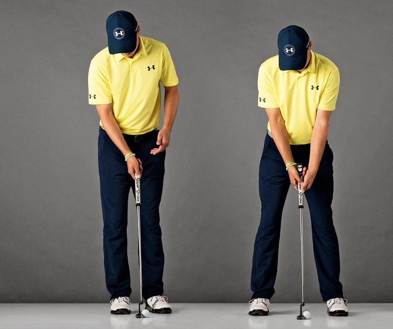 Cách cầm gậy golf truyền thống