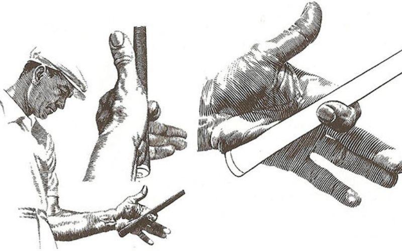 Các quy chuẩn cầm gậy khác nhau sẽ cho hiệu suất chơi bóng khác nhau