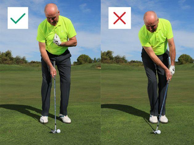 Cách set up hiệu quả khi đánh chip golf