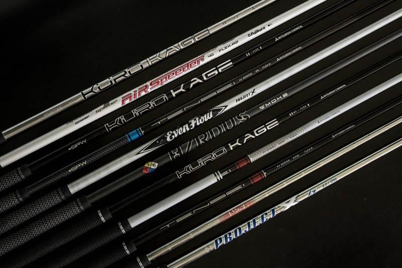 Với những người mới chơi golf thì nên lựa chọn gậy có shaft mềm