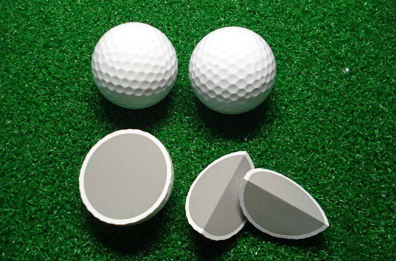 Bên trong bóng golf 2 lớp