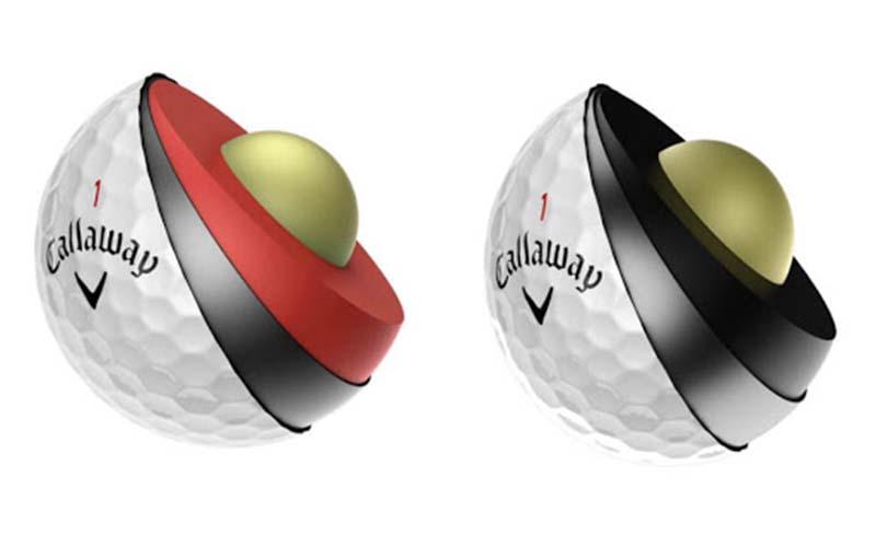 Bóng golf 4 lớp được bổ sung thêm lớp giữa so với loại bóng 3 lớp