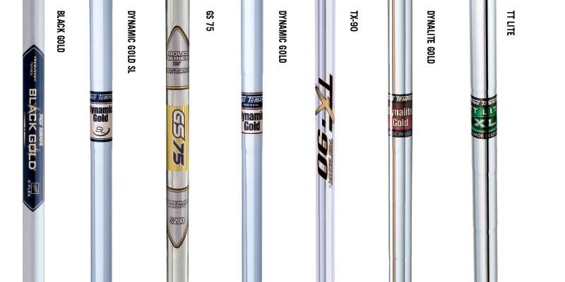 Một số hình ảnh shaft gậy golf phổ biến hiện nay