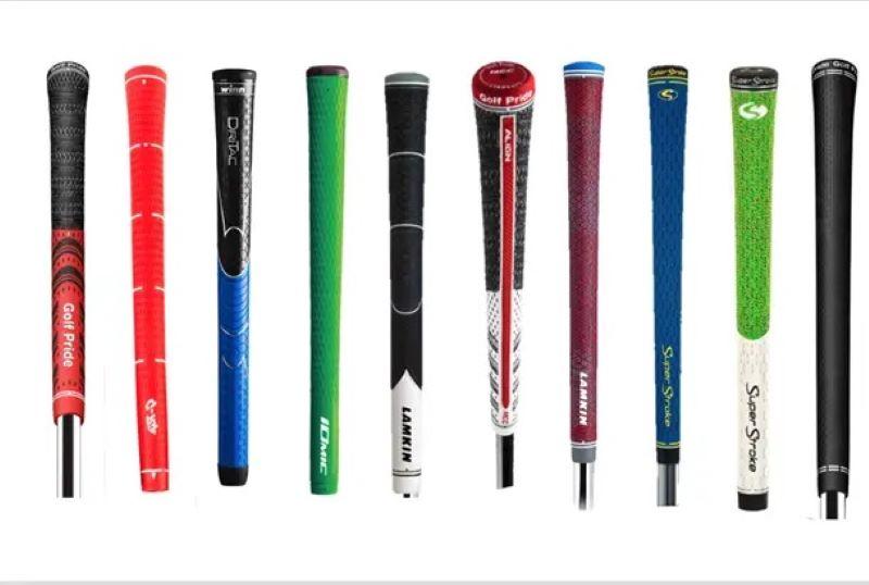 Grip là bộ phận cuối cùng trong cấu tạo gậy golf có màu sắc và thiết kế đa dạng