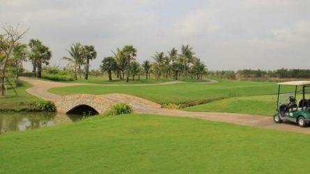 chơi golf tại garden city