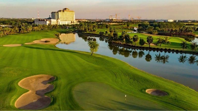 Sân có chất lượng đẳng cấp, thu hút golfer từ nhiều quốc gia