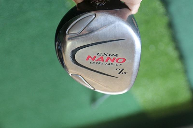 Đầu gậy Driver Maruman Nano có thiết kế đặc biệt để hỗ trợ người chơi