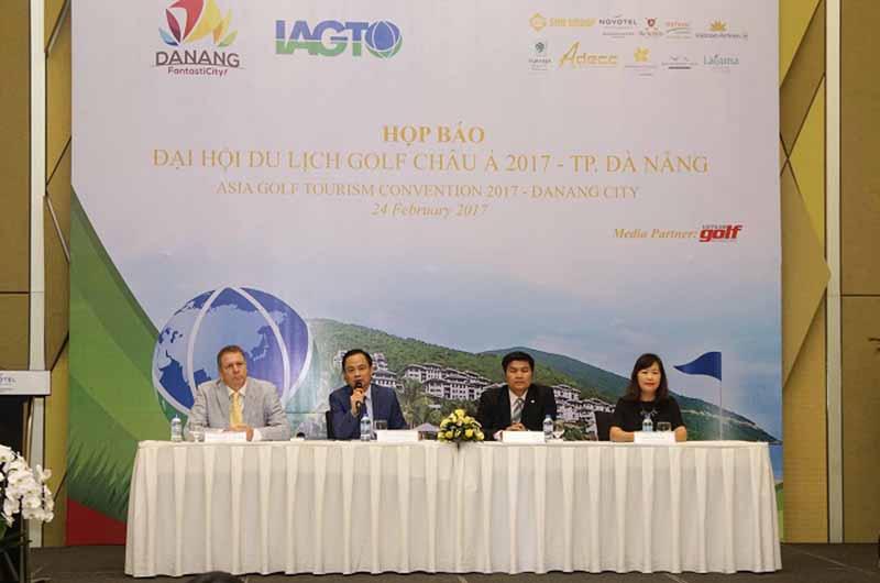 Hình ảnh trong buổi họp báo tại Đà Nẵng