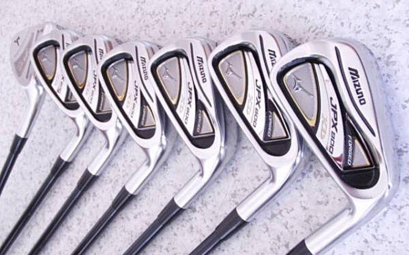 Gậy golf Mizuno cũ nhưng không có nghĩa là chất lượng kém