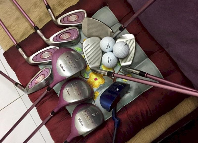 Sử dụng gậy golf nữ cũ giúp tiết kiệm chi phí