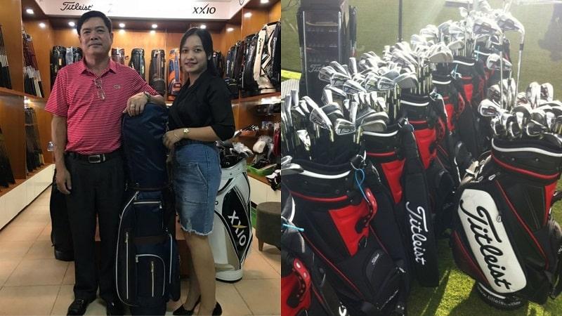 Các bộ gậy golf Titleist đang có mặt tại Thế Giới Gậy Cũ