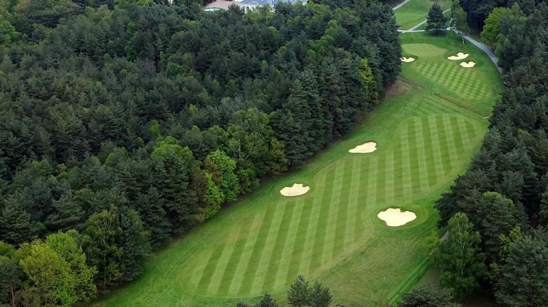 Toàn cảnh một Golf Course trên sân golf