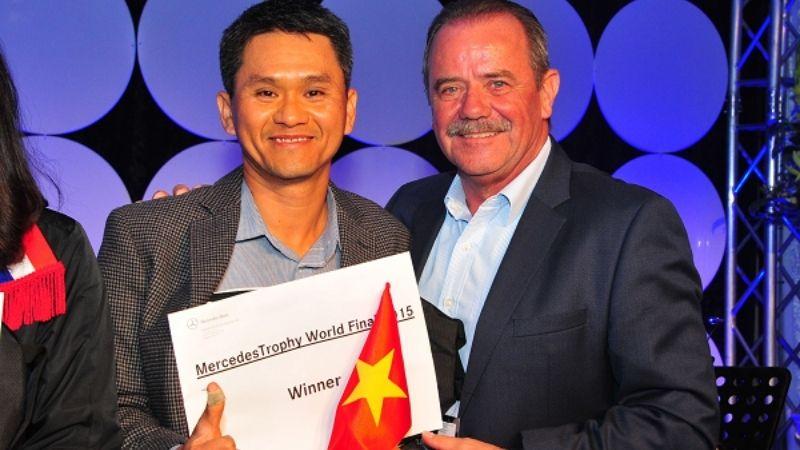 Golfer Giang đã có vòng thi đấu ấn tượng