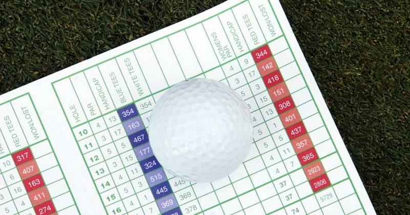 Handicap Callaway - hệ thống bảng tính điểm cho những golf thủ