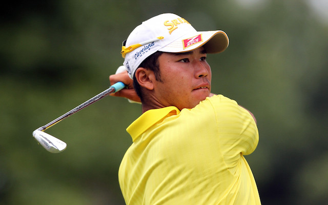 hideki matsuyama cũng sử dùng nhiều gậy golf trong 1 túi gậy