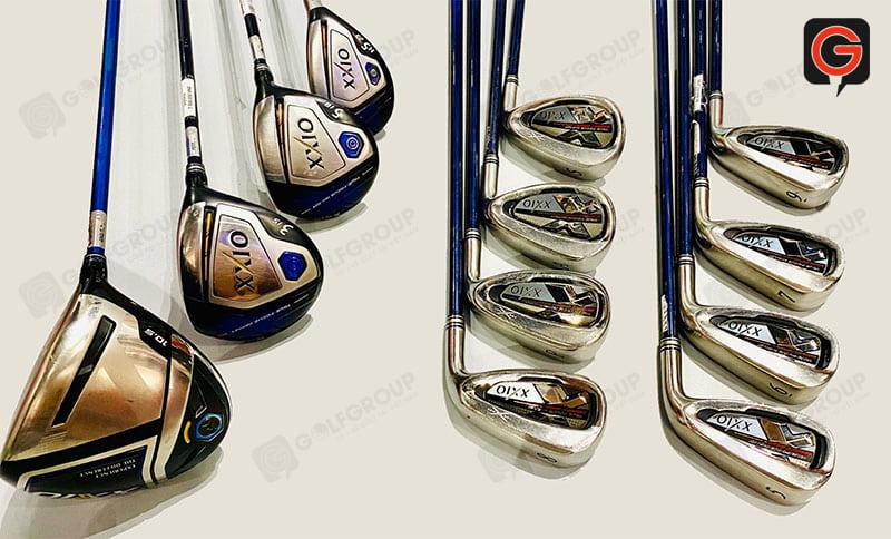Bộ gậy đánh golf XXIO MP1000 fullset