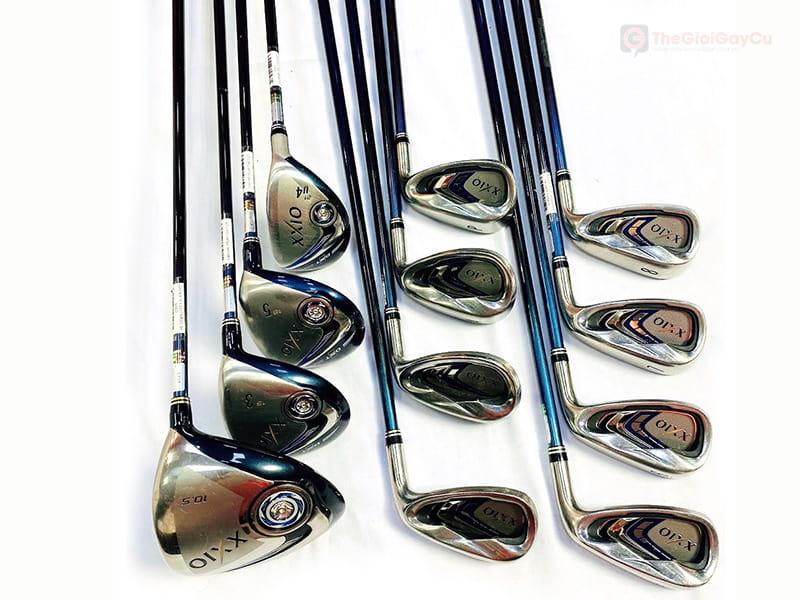 Bộ gậy golf fullset XXIO MP700 cũ được đánh giá là dễ đánh