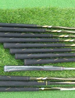 Tay cầm gậy golf Honma 2 sao IS03 fullset 49R vừa vặn tiếp nối hoàn hảo với cán gậy