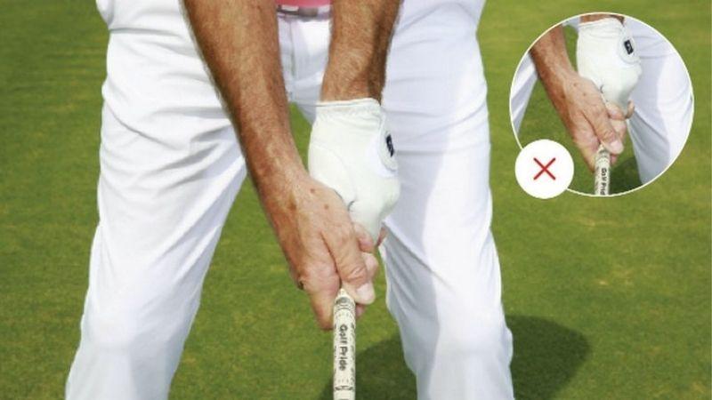 Golfer cần chú trọng cách cầm gậy và hướng mặt gậy
