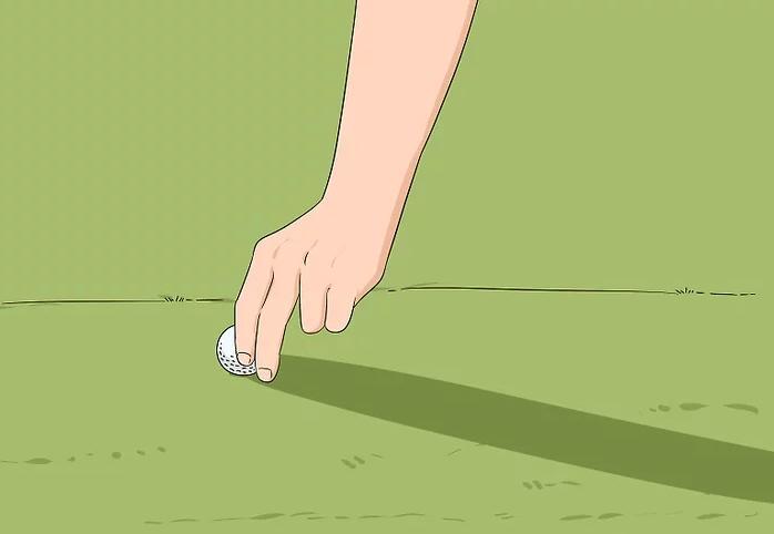 Không di chuyển bóng trên sân golf