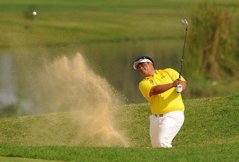 Đánh cát trong golf là một kỹ thuật khó