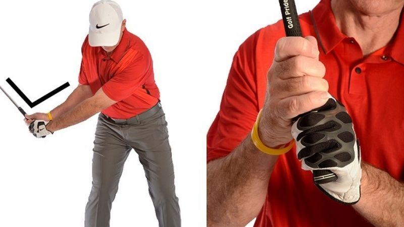 Luyện kỹ thuật cầm gậy golf