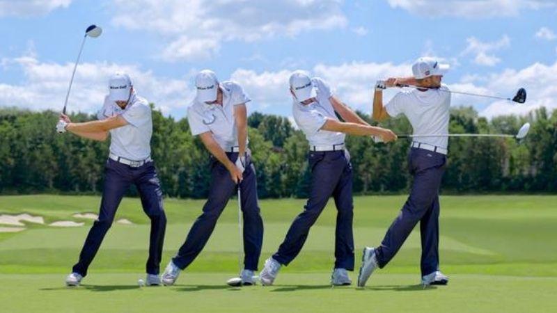 Tư thế đánh golf chuẩn nhất