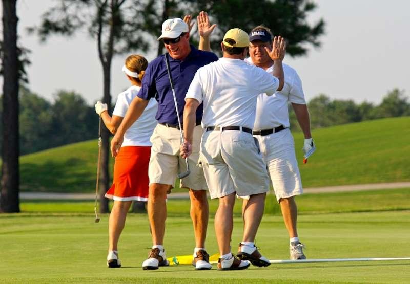 Golf mang đến sự giao lưu giữa tầng lớp thượng lưu
